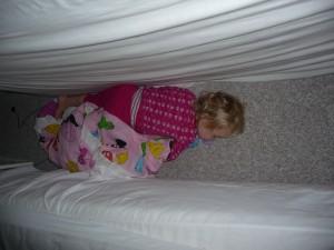 Sådan fant vi sofia da vi skulle i seng