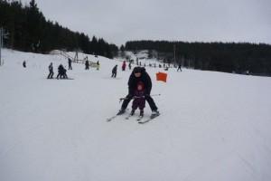 Igen på ski med far